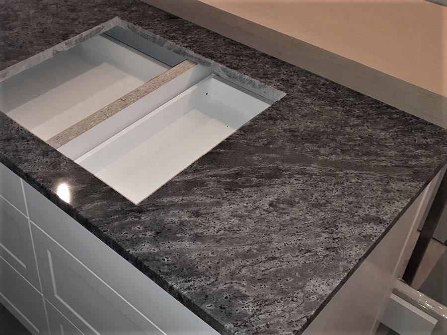 Blat kuchenny granit ORISA BLUE poler